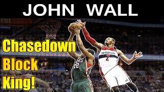 John Wall - Chasedown Block King HD - Best Blocks NBA 2016 / 2017