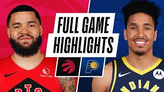 RAPTORS at PACERS | FULL GAME HIGHLIGHTS | January 25, 2021