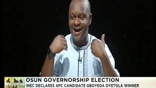 Journalist's Hangout  28th Sept., 2018  | Osun Governorship Election