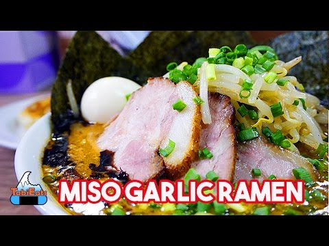Miso Ramen at Misoya Hachiro Shoten Shinjuku (Food Review)【美味しい味噌と餃子】新宿・味噌屋八郎商店!