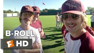 Everybody Wants Some!! B-ROLL (2016) - Glen Powell, Blake Jenner Movie HD