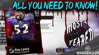 *EVERYTHING YOU NEED TO KNOW* MOST FEARED PROMO! MADDEN 20 ULTIMATE TEAM