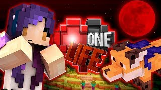 Taming A Fox During a BLOOD MOON | Ep. 5 | One Life Minecraft SMP