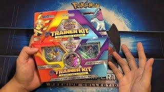 Xem thử trong hộp Pikachu Libre và Suicune Trainer Kit deck Pokemon có gì   M2DA