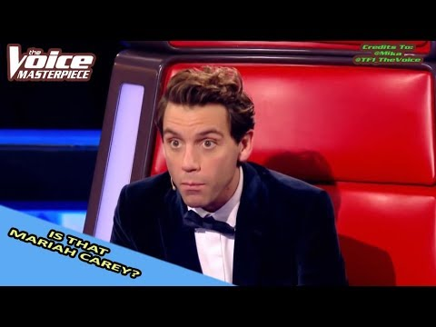 MARIAH CAREY SONG COVERS IN THE VOICE
