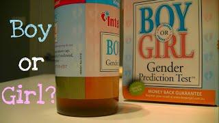 Intelligender ❤ Gender prediction test ❤ BOY or GIRL? UPDATED WITH RESULTS!