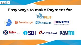 Easy ways to make payment for TyariPlus from #Onlinetyari