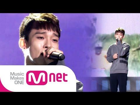 Mnet [EXO 902014] : 엑소 첸이 부르는 파일럿 OST '정연준-하늘 끝까지' / EXO Chen's special stage
