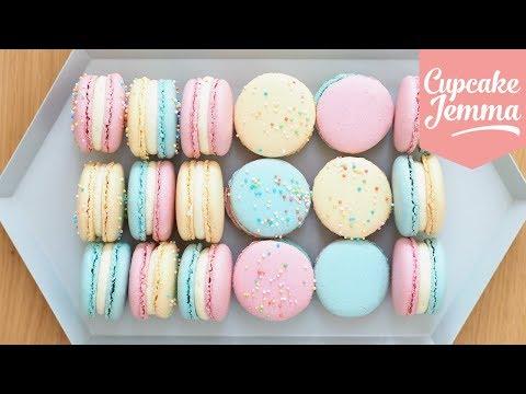 Macaron Masterclass - How to Make Perfect Macarons   Cupcake Jemma
