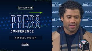 Russell Wilson Postgame Press Conference at Packers   2019 Seattle Seahawks