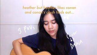 heather but there's 3 povs (conan gray rewrite cover)