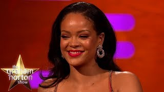 Rihanna Reveals If She's Working On New Music Right Now | The Graham Norton Show