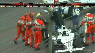 Ho-Pin Tung Big Crash in Pole Day Qualifying