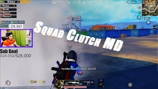 1v4 KAREGA AAJ MD || PUBG MOBILE HIGHLIGHTS || MDisCrazY