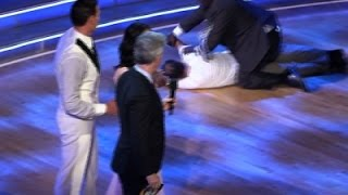 Video of Lochte Protesters Rushing 'DWTS' Stage