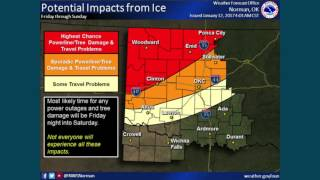 Oklahoma Weather: Winter storm approaches