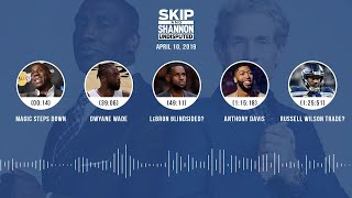 UNDISPUTED Audio Podcast (04.10.19) with Skip Bayless, Shannon Sharpe & Jenny Taft | UNDISPUTED