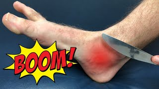 Fix Ankle Pain in 30 SECONDS With a Butter Knife