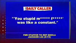 Former Staffers to Rep. Sheila Jackson Lee Speak Out About Outrageous Demands