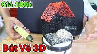 Lâm Vlog - Dùng Thử Bút Vẽ 3D Giá 300k | Bút Vẽ Đồ Vật