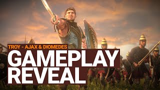 A Total War Saga: TROY - Ajax & Diomedes Gameplay Reveal