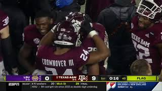 Texas A&M vs LSU 2020 - no huddle