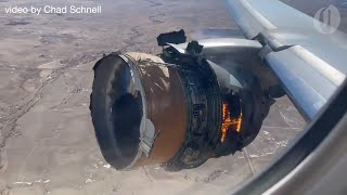United Airlines Boeing 777 suffers catastrophic engine failure over Denver