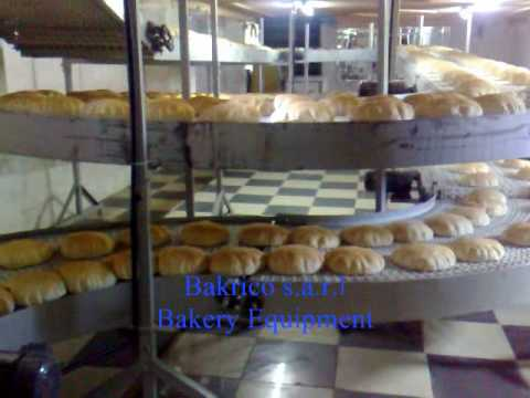 Pita Bread Machine 2 Rows - Bakrico Bakery Equipment Lebanon.wmv شركة بكري - بكريكو