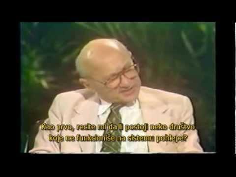 Milton Friedman o kapitalizmu i pohlepi