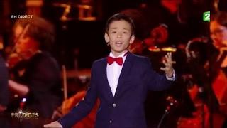 Eric chante « Funiculi Funicular » de Denza - Paris