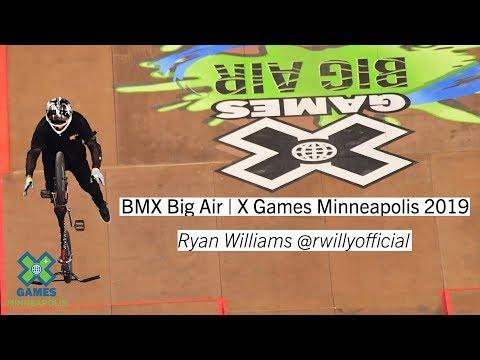 Ryan Williams BMX Big Air - X Games Minneapolis 2019
