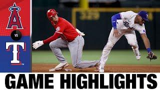 Angels vs. Rangers Highlights (9/29/21) | MLB Highlights