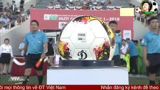 Tổng hợp trận đấu SHB Đà Nẵng vs Sài Gòn FC V.League 2018