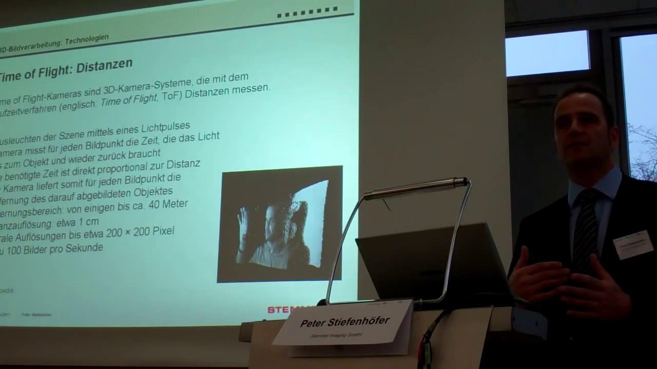 Video: Vortrag »Prinzipien der 3D-Bildverarbeitung«