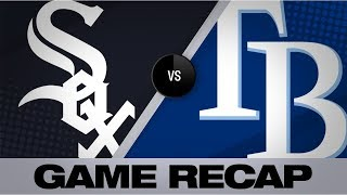 Abreu plates go-ahead run in White Sox win | White Sox-Rays Game Highlights 7/20/19