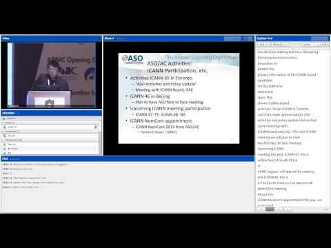 APNIC 35 - Global Reports