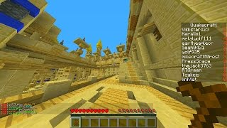 Minecraft Mini-Game: QUAKECRAFT with Vikkstar & Keralis