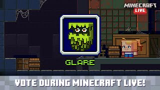 Minecraft Live 2021: Vote for the glare!