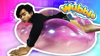 EXPLODING SUPER WUBBLE BUBBLE!