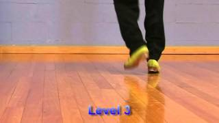 Tap Dance with Glenn Wood Tap. Levels 1, 2 & 3 promo.