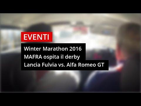 Winter Marathon 2016: Derby Ma-Fra Lancia Fulvia vs Alfa Romeo GT