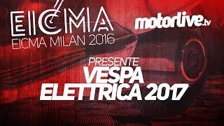 Piaggio Elletrica : La Vespa électrique en vidéo