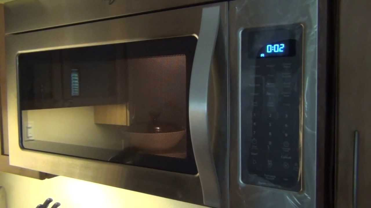 Whirlpool Wmh53520as Over The Range Microwave 53520