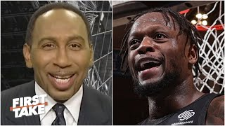 It WASN'T luck! - Stephen A. is hyped about the Knicks' Game 2 win over the Hawks | First Take