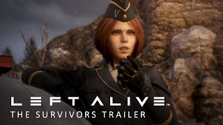 LEFT ALIVE - The Survivors Trailer