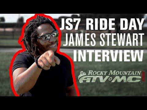 2019 JS7 Ride Day EXCLUSIVE Interview w James Stewart