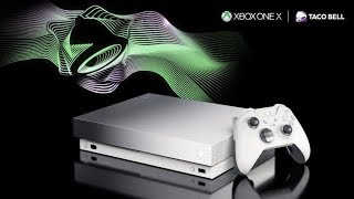 Taco Bell Xbox One X Unboxing!