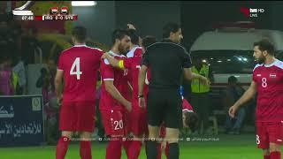 مباراة ودية : سوريا 1 - 1 العراق     -