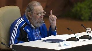 Ailing Fidel Castro Gives Rare Speech