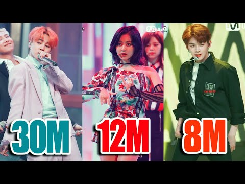 TOP 50 Most VIEWED K-Pop STAGES of 2019